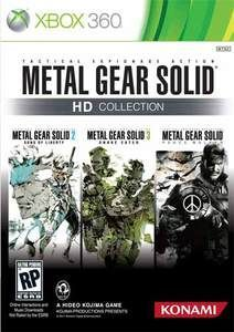 Metal Gear Solid HD Collection - Xbox 360 Game