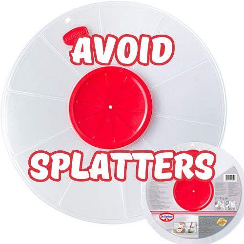 Spritzschutz von Dr. Oetker! Dieser Schutz hält die Küche suaber und verhindert Spritzer beim Verrühren von Teigen sowie Massen! #Spritzschutz #Rührschüssel #Backzubehör