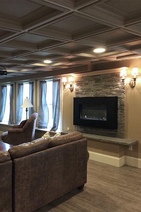 Lovely Modern Ceiling Tiles for Basement