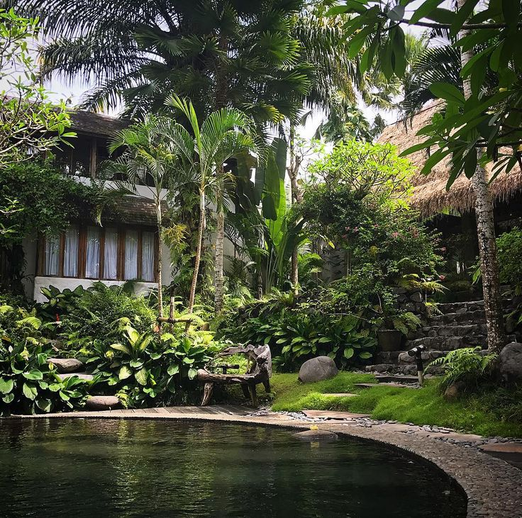Our little piece of Ubud heaven. Feeling mighty relaxed @stonehousebali
