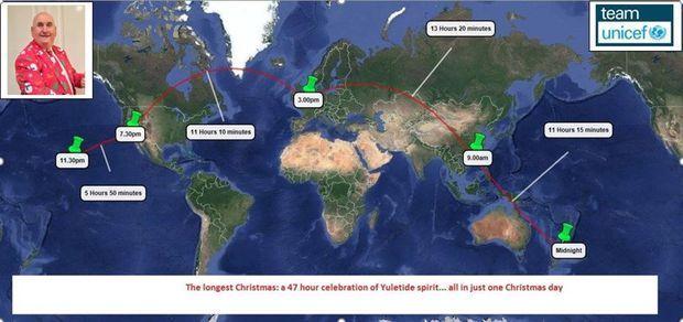 Un britanic a avut cea mai lungă zi de Crăciun – de 47 de ore