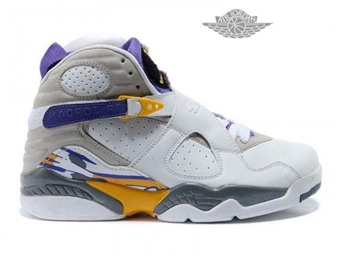buy online f517a 89031 ... Air Jordan 8 Retro Chaussures Pas Cher Pour Homme Air Jordan 8 Retro  Homme - Authentique ...