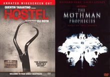 Hostel [Unrated WS]/The Mothman Prophecies [2 Discs] [DVD], 11363811