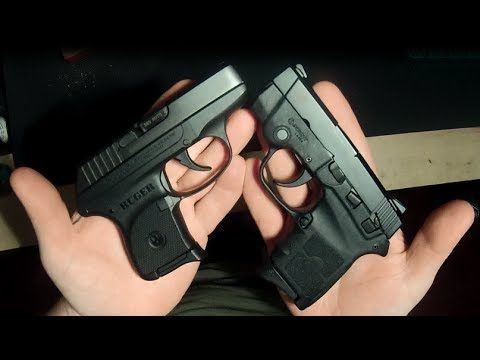 Ruger LCP 380 vs Smith & Wesson BodyGuard 380 - YouTube