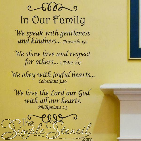 Family Quotes Scripture