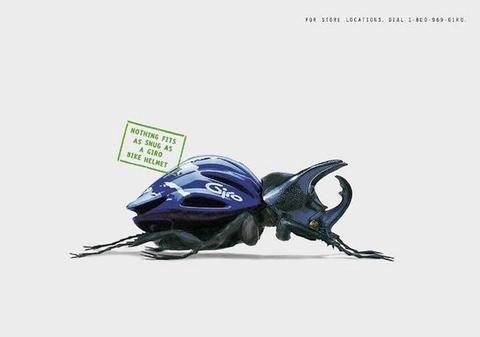 Giro Helmets Ads by Dentsu Young & Rubicam