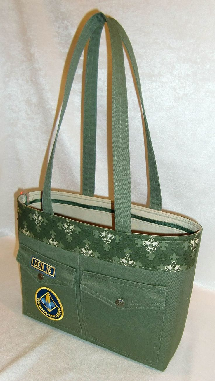 I am in love with this bag....what an outstanding job on this LG pattern...