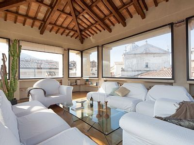 VRBO.com #1740235ha - Luxuyry Frescoed Penthouse with 360-Degree View Over the Historic Centre