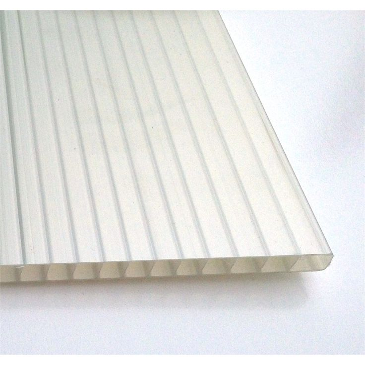 Suntuf Sunlite 10mm x 3.0m Solar Ice Twinwall Polycarb Roofing