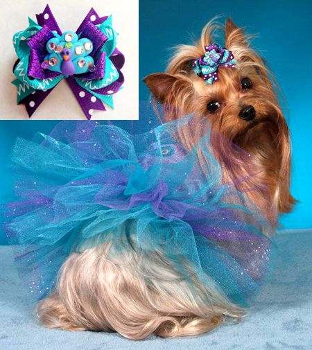 Matching Dog Bows AMAZING! #rrrhairbow
