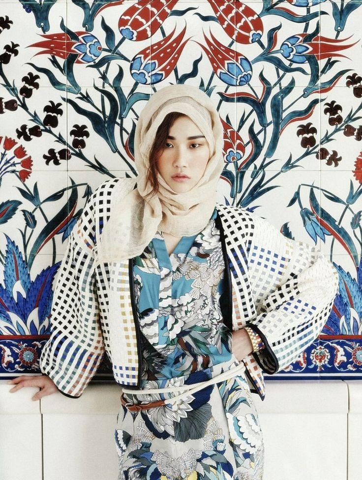 Won-Kyung Lee by Gun-Ho Lee for Vogue Korea June