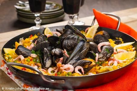 Recept - Paella. Spaniens pytt i panna. #paella