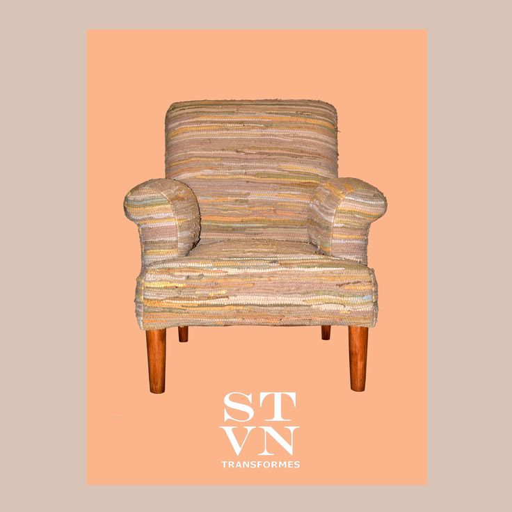 'RGS-ML' #Armchair Upholstered with Traditional Greek  Kilimi Rags #Πολυθρωνα  Upcycling objects into furniture, utility and decorative items, for private or professional use. #furniture #lighiting #accesssories #upcycled #recycled #one_of_a_kind.