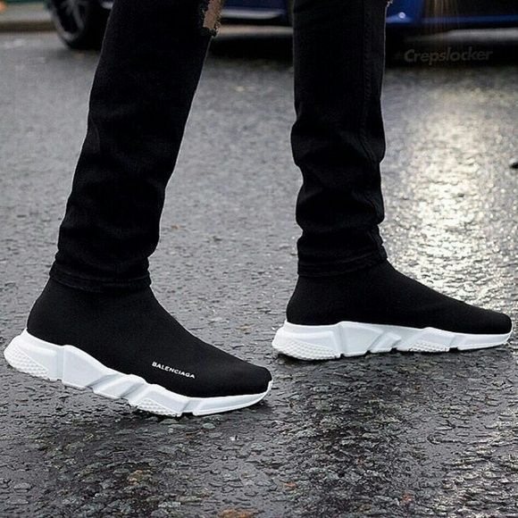 Balenciaga shoes mens, Sneakers outfit