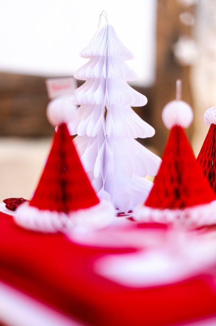 Deco de table, Noël au chalet #Noel #Noel2016 #DecoDeNoel #NoelTraditionnel #NoelRougeEtBlanc #NoelTradi