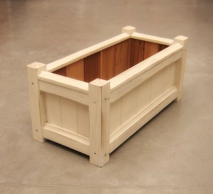 Large Garden Planter Box - Andrew's Reclaimed | domino.com
