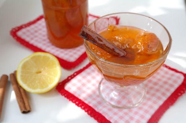 Абрикосовое варенье с лимоном и корицей #apricot #jam
