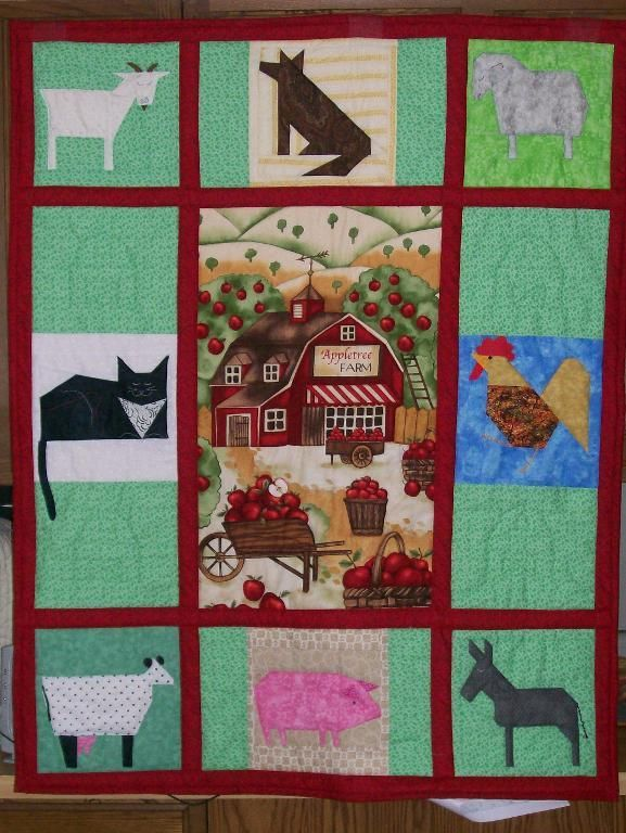 96 best images about Quilt Ideas Farm Animals on