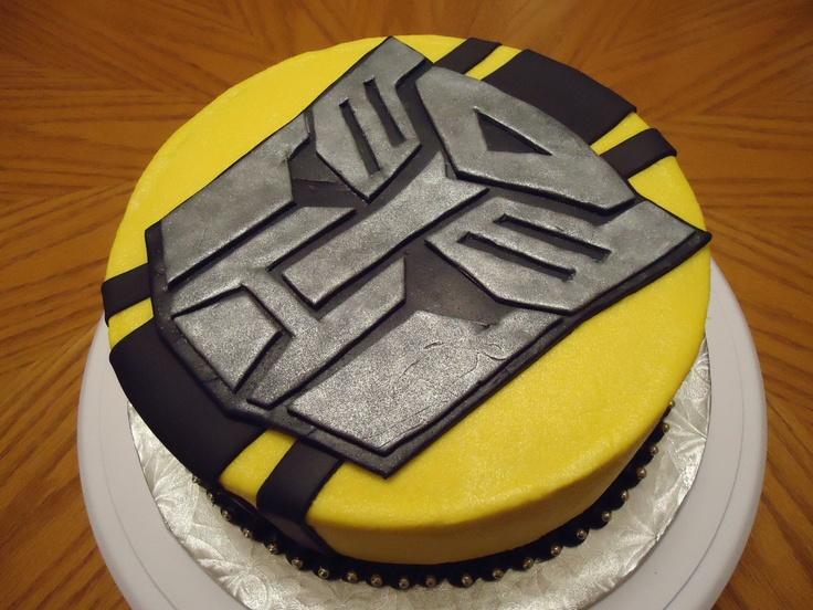 Transformers Bumblebee Cake Birthdays Pinterest