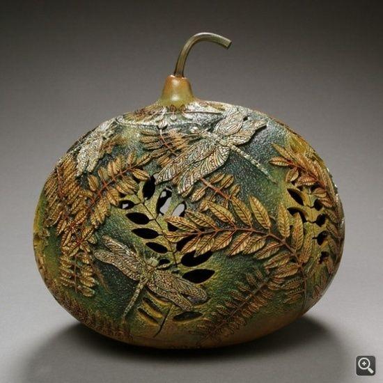 Beautiful Gourd Art by marva