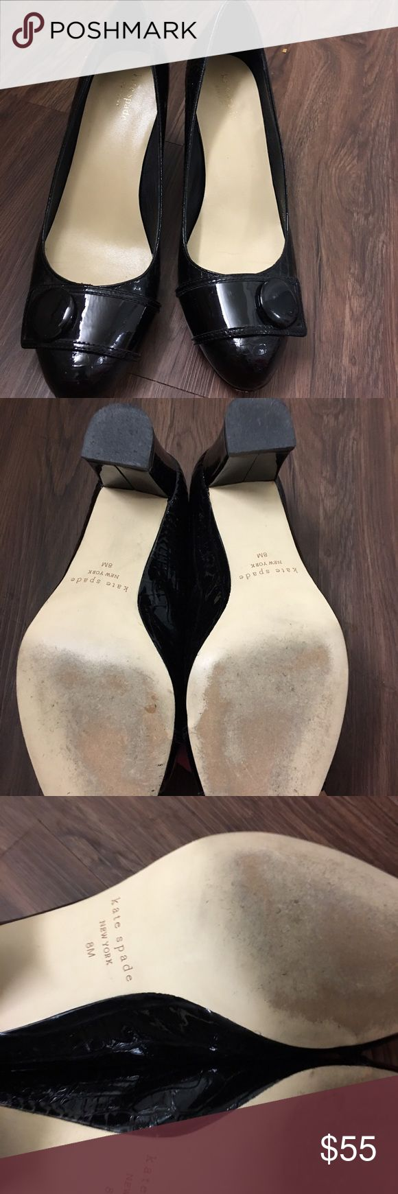 Kate Spade Shoes Wore couple times. Like brand new. Excellent condition. kate spade Shoes Heels