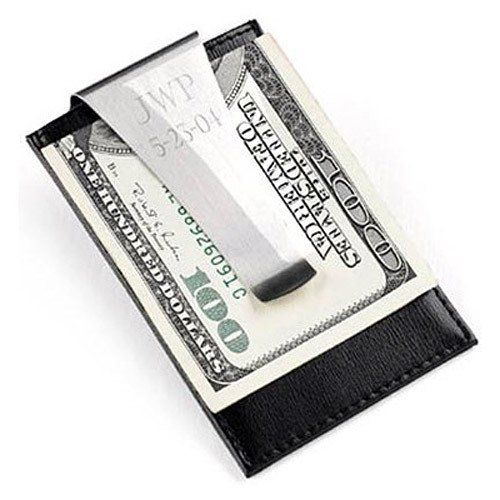 Engraved Money Clip / Credit Card Holder by Beau-coup