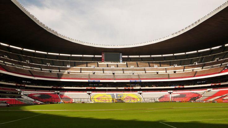 Estadio azteca stadiums pinterest for Puerta 1 estadio azteca