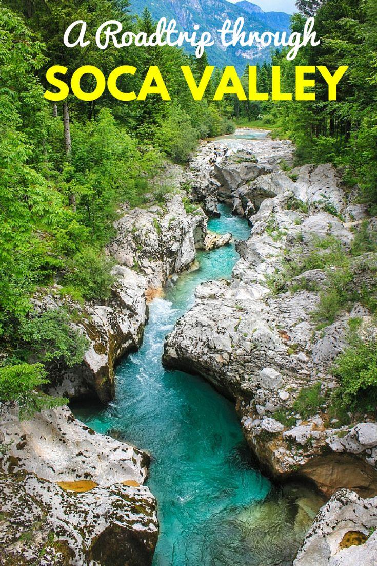 The beautiful Soca Valley, Slovenia