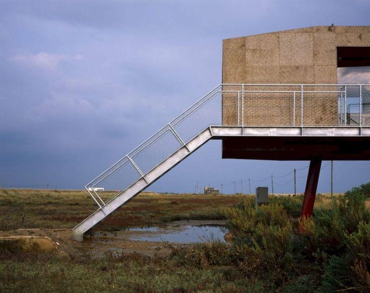 A Cork-Clad Cabin Above A Tidal Salt Marsh https://www.futuristarchitecture.com/36102-cork-clad-cabin-tidal-salt-marsh.html
