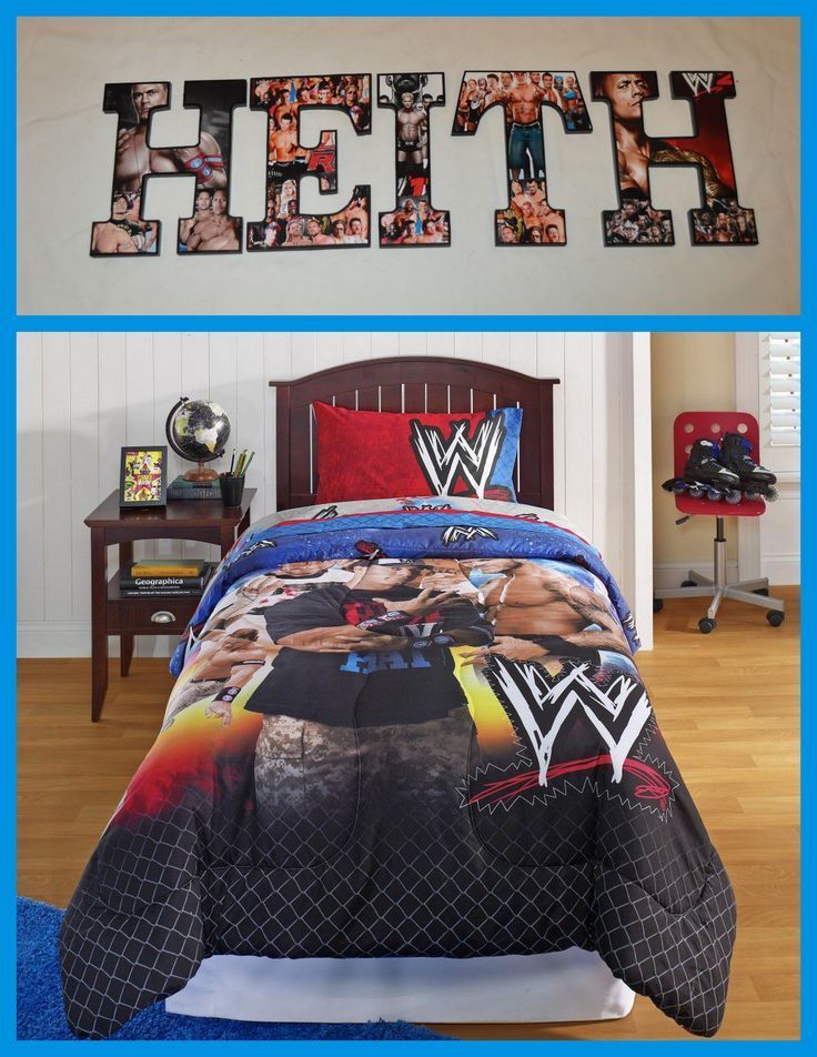 1000 images about wooden letters customized on pinterest for Wwe bathroom decor