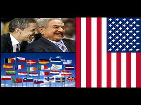 George Soros & The Antichrist Barack Obama Found 2B Behind Anti-Trump Ma...