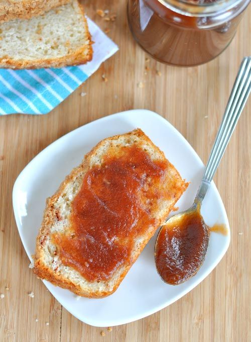 Use on toast, English muffins, and even as a layer between pancakes!