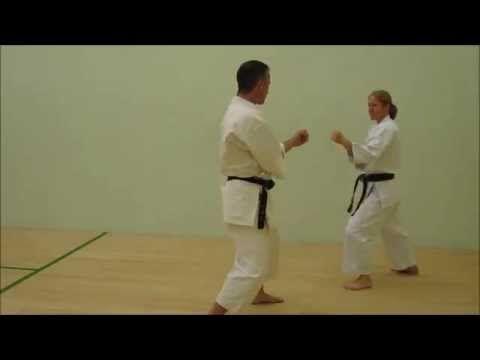 Wado Kai Karate Kumite Gata 1 - 10 - YouTube