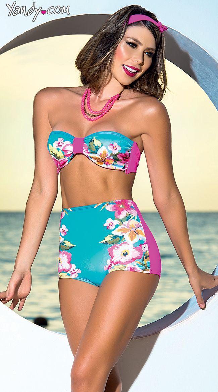 Panty Sissy Models His String Bikini Bathing Suit