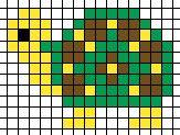 turtle iron beads