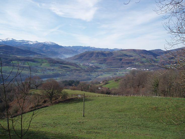 Hermosas vistas alrededor de Erratzu