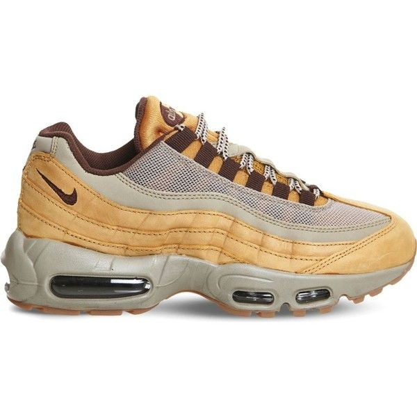 4ce55a67892b9 Nike Air Max 95 Trainers 95 liked on Polyvore featuring shoes