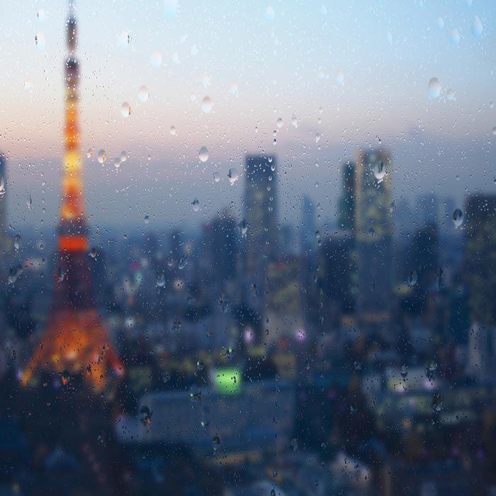 Tokyo Rain Drops Wallpaper Engine Wallpaper Landscape Wallpaper Rain Drops