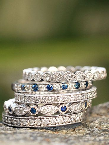 Love, love these bands, would wear them all as stackables
