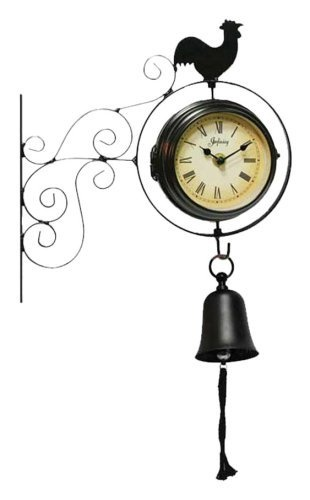 infinity instruments morning bell wall clock by infinity instruments httpwww