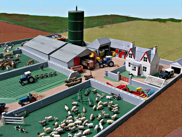 Best Toy Farm Display | Toy farming on an epic scale!
