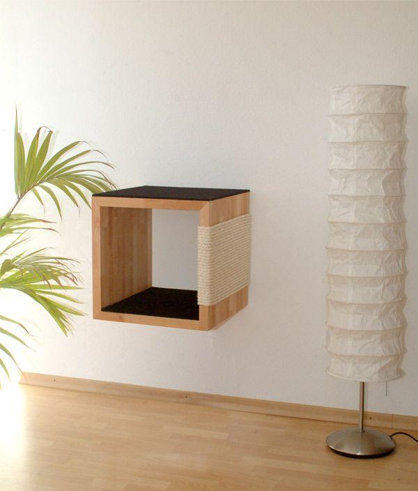 1000 ideen zu katzenm bel auf pinterest katzenbetten. Black Bedroom Furniture Sets. Home Design Ideas