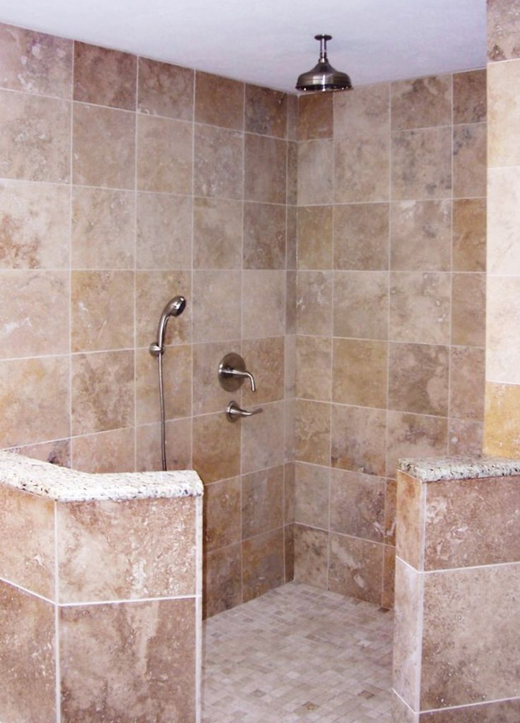 Best 25 walk in shower designs ideas on pinterest for Master bathroom no door