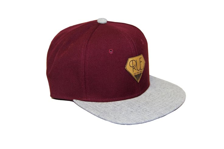 Rue The Label - Leather Snapback