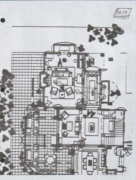 Casa Halliwell Plano Planta Alta Charmed Quinta
