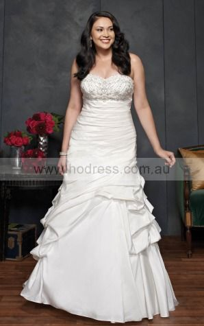 Lace-up A-line Empire Sweetheart Wedding Dresses hdcf1101--Hodress
