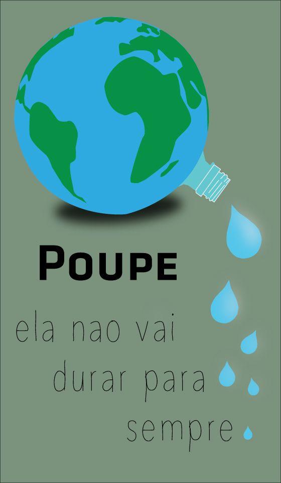 Poster Economia de água