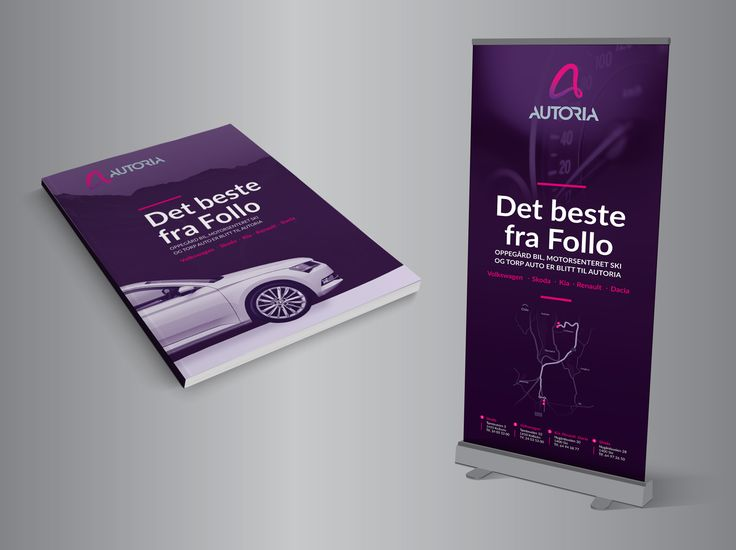 Markedsmateriell #corporateidentity #cars #logodesign #graphicdesign