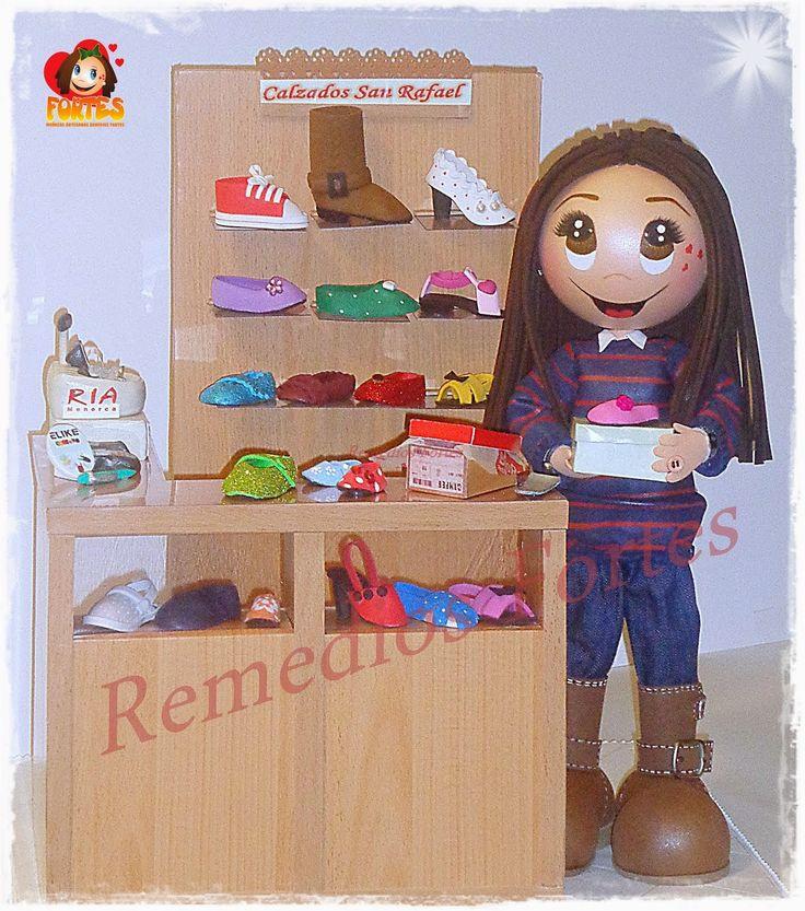Ángela y su zapatería