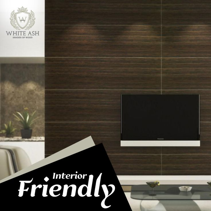 Laminates bring an elegant touch to your house and are feasible for everyday use. #WhiteAsh #Laminates #interior #design
